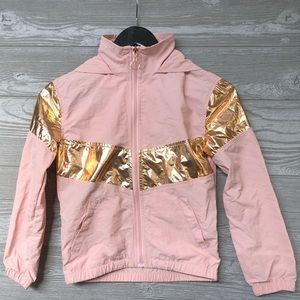 girls size S (7/8) lightweight jackets